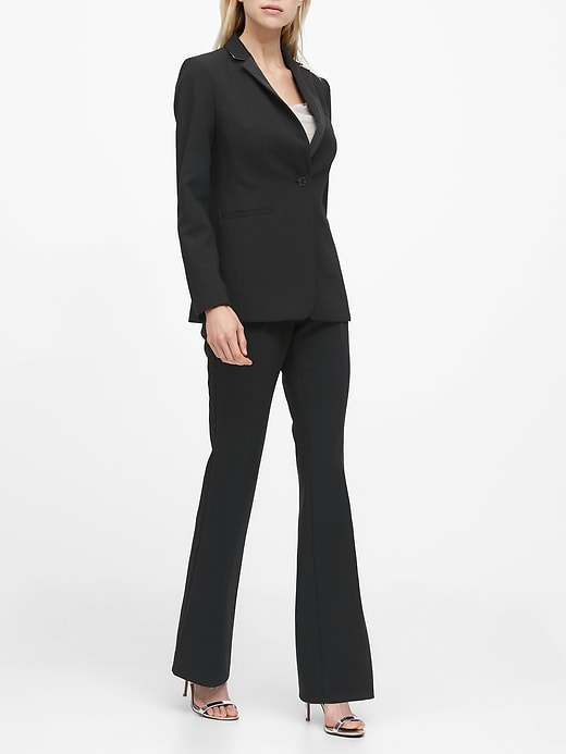 Long and Lean-Fit Tuxedo Blazer
