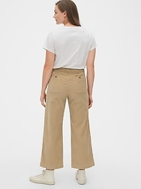 High Rise Mariner Wide-Leg Cords