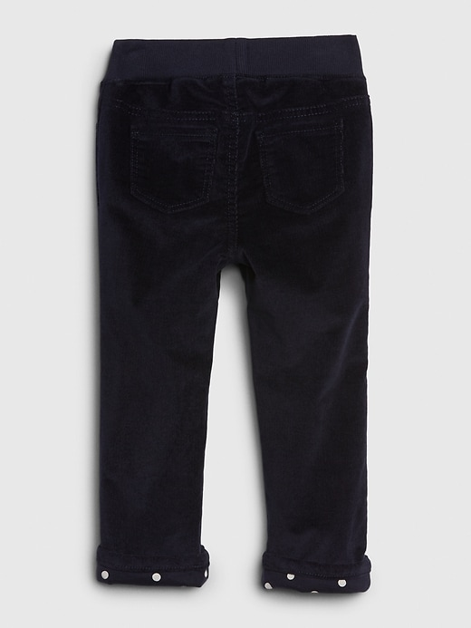 Toddler Lined Pull-On Cords
