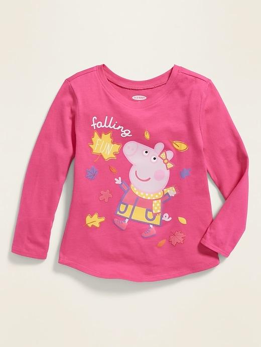 """Peppa Pig&#153 """"Falling Fun"""" Graphic Tee for Toddler Girls"""