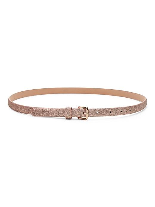 Skinny Glitter Belt