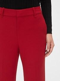 High Rise Wide-Leg Crop Pants