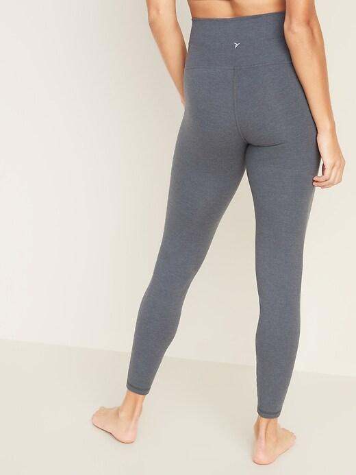 High-Waisted Balance Yoga 7/8-Length Leggings for Women