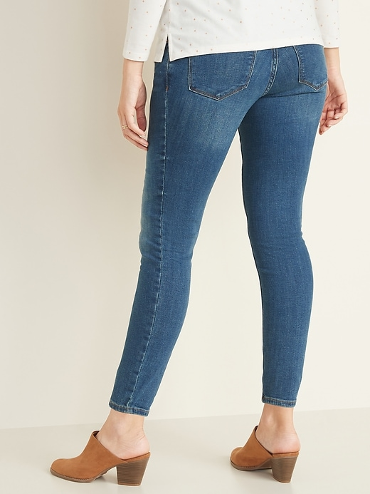 Maternity Full-Panel Rockstar Super Skinny Jeans