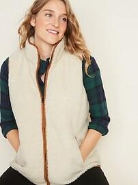 Maternity Sherpa Vest