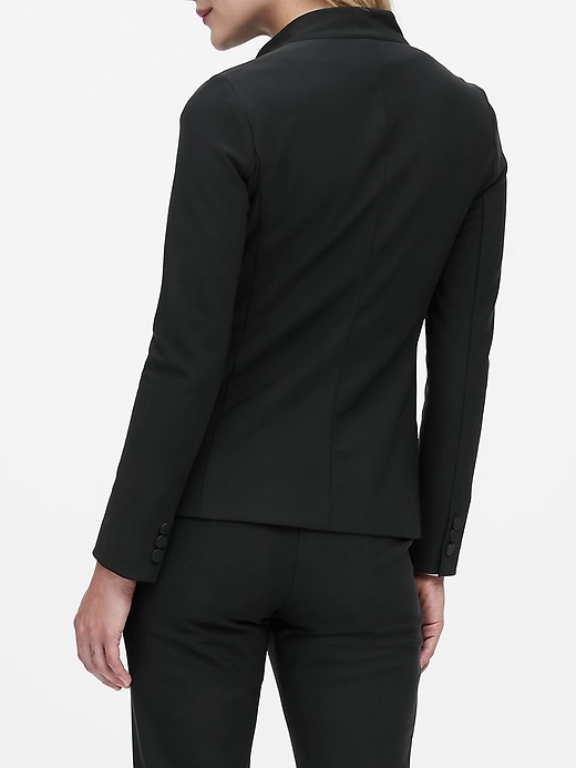 Petite Packable Performance Collarless Blazer