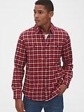 Gap Flannel Work Shirt