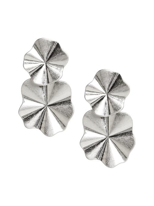 Wavy Statement Earrings