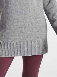 Wool Cashmere V&#45Neck Tunic