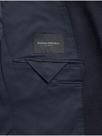 Slim Italian Knit Blazer