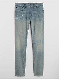 Distressed Skinny Jeans with GapFlex