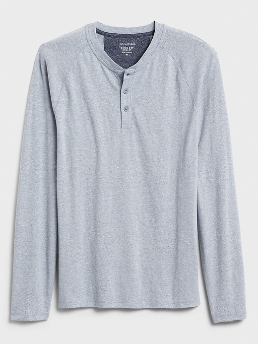 Quick Dry Long-Sleeve Henley