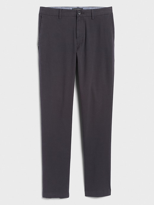 Aiden Slim-Fit Stretch Check Pant