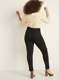 High-Waisted Distressed Pop Icon Skinny Jeans For Women