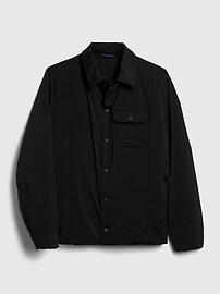 Veste-chemise légère doublée en sherpa
