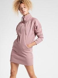 Cozy Karma 1/4 Zip Dress