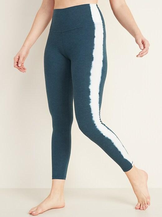 High-Waisted 7/8-Length Balance Yoga Leggings for Women