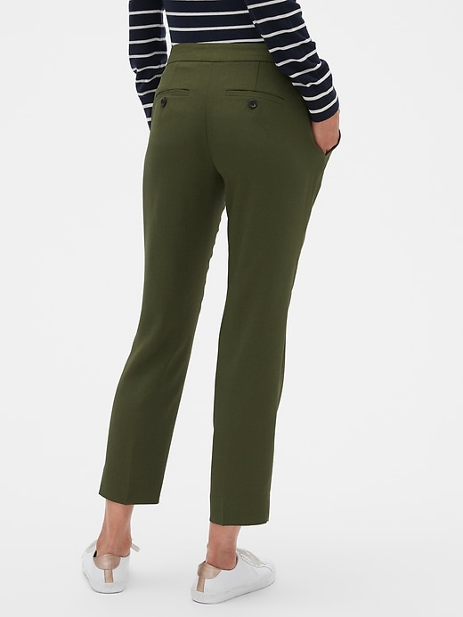 Avery Soft Tie-Waist Tailored Ankle Pant