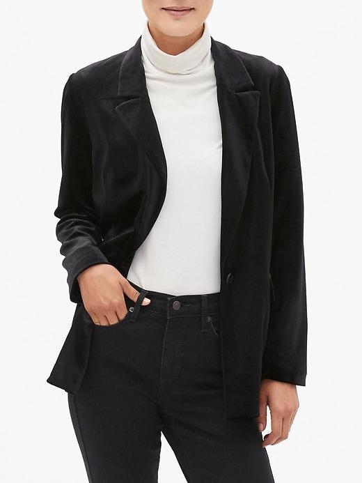 Velvet Soft Long Blazer