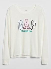 Gap Logo Long Sleeve T-Shirt