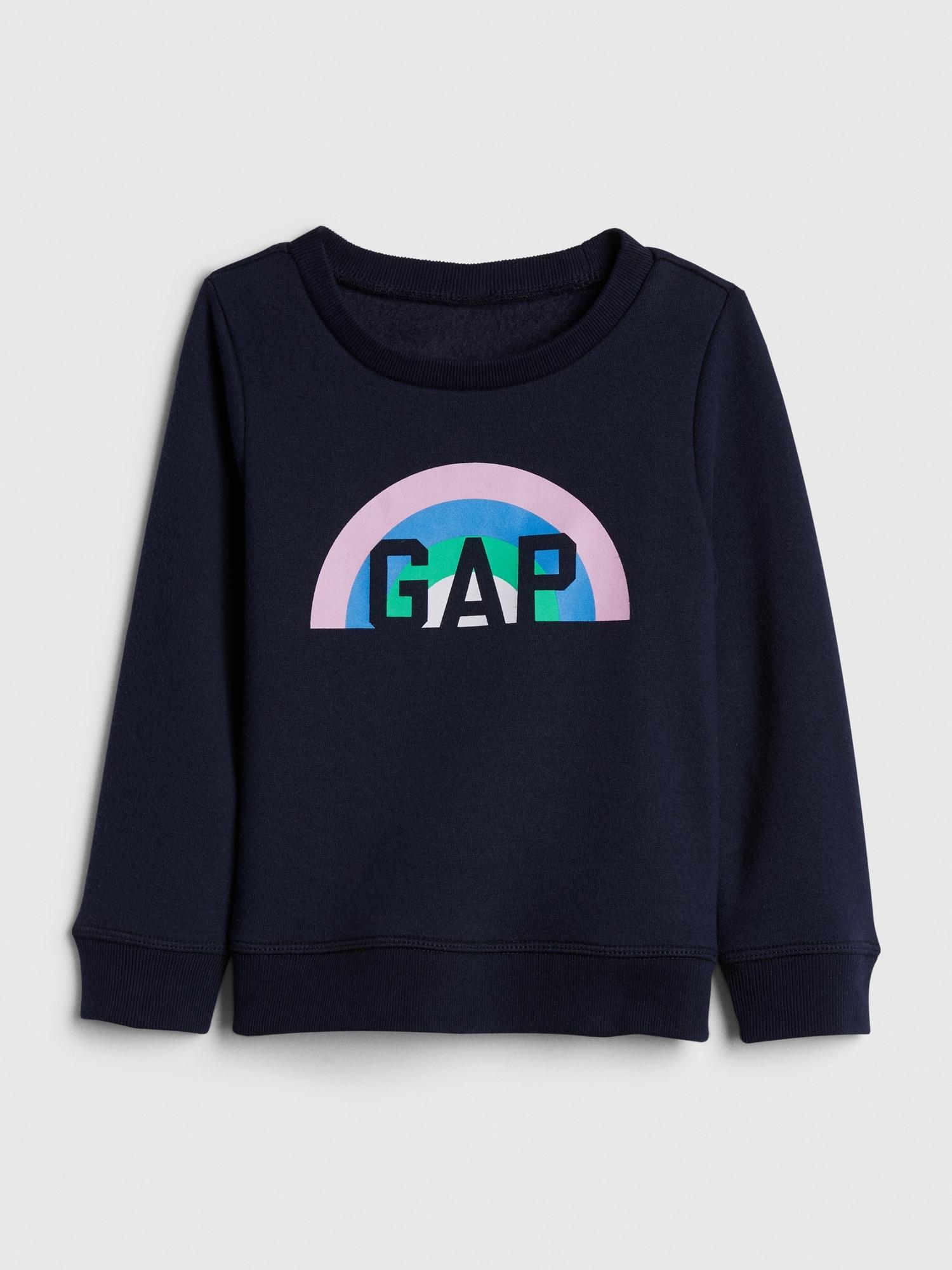 Gapロゴスウェットシャツ (幼児)