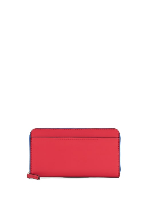 Portefeuille à glissière Continental
