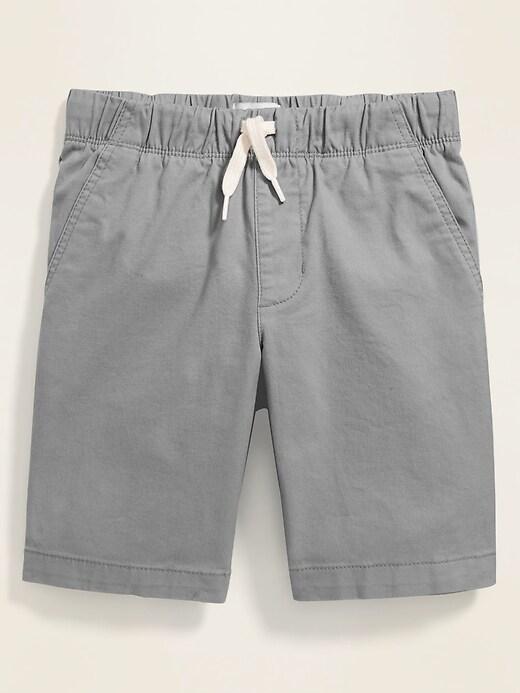 Built-In Flex Flat-Front Jogger Shorts for Boys