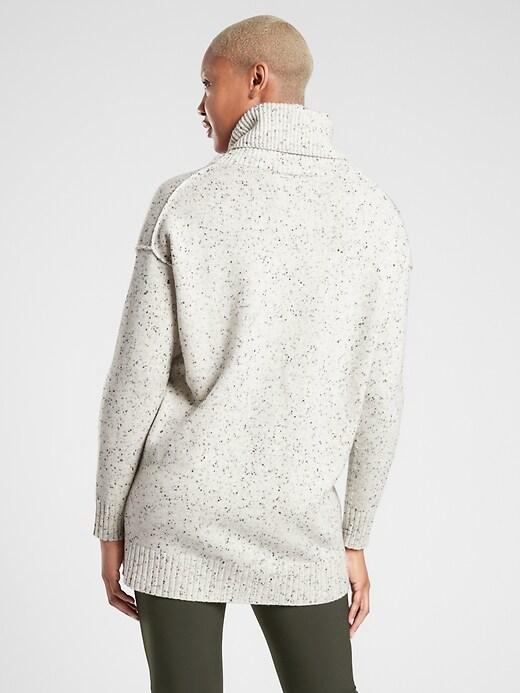 Bayshore Wool Cashmere Turtleneck Tunic