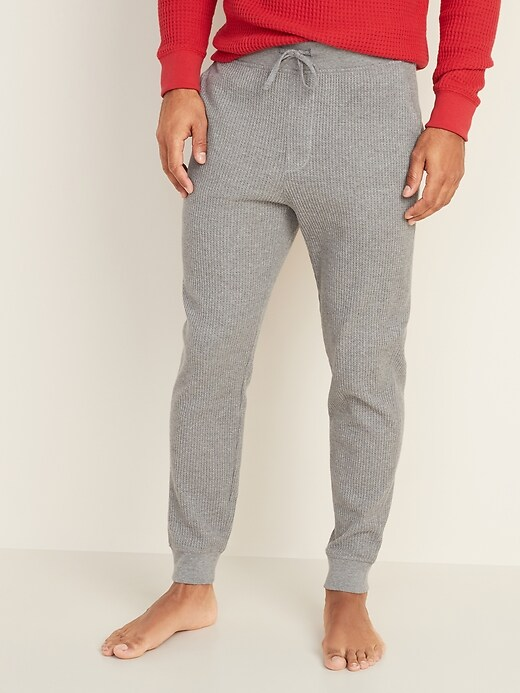 Thermal-Knit Joggers for Men