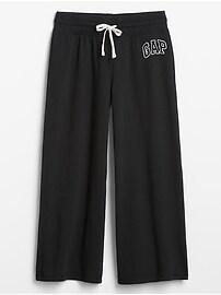 Gap Logo Wide Leg Pants