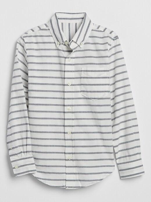 Kids Stripe Long-Sleeve Shirt