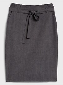 Novelty Pattern Pencil Skirt