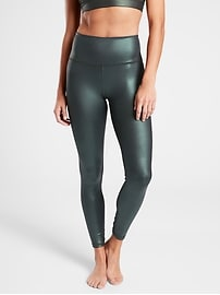 Elation Ultra High Rise Shimmer Tight In Powervita&#153