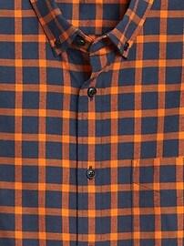 Chemise en flanelle, coupe standard à porter sortie