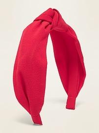 Fabric-Covered Headband For Women