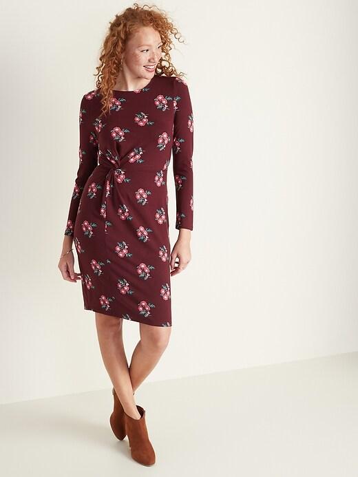 Twist-Front Dress for Women