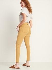 High-Waisted Sateen Rockstar Super Skinny Jeans for Women