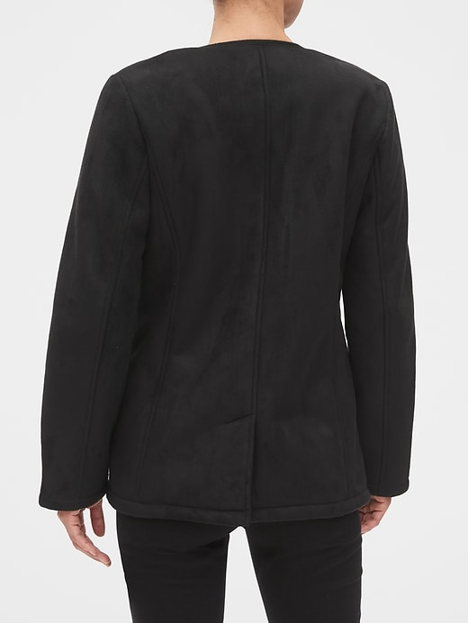 Sherpa Lined Moto Jacket