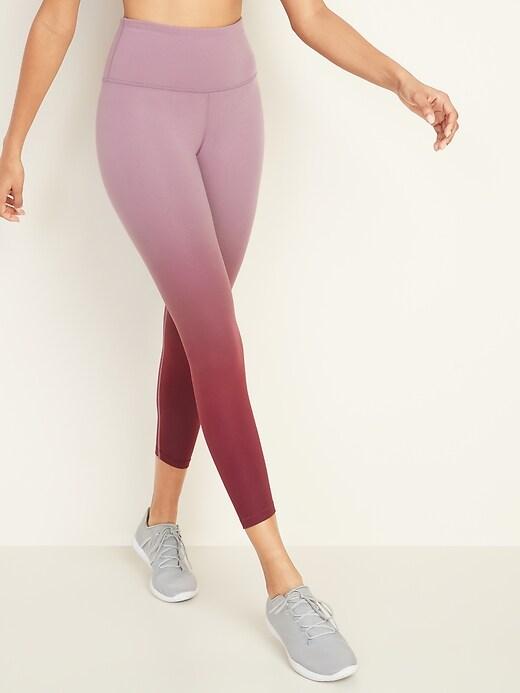 High-Rise Elevate 7/8-Length Ombré Leggings for Women