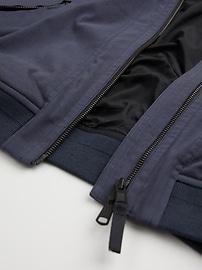 Insulated Hybrid Bomber Jacket