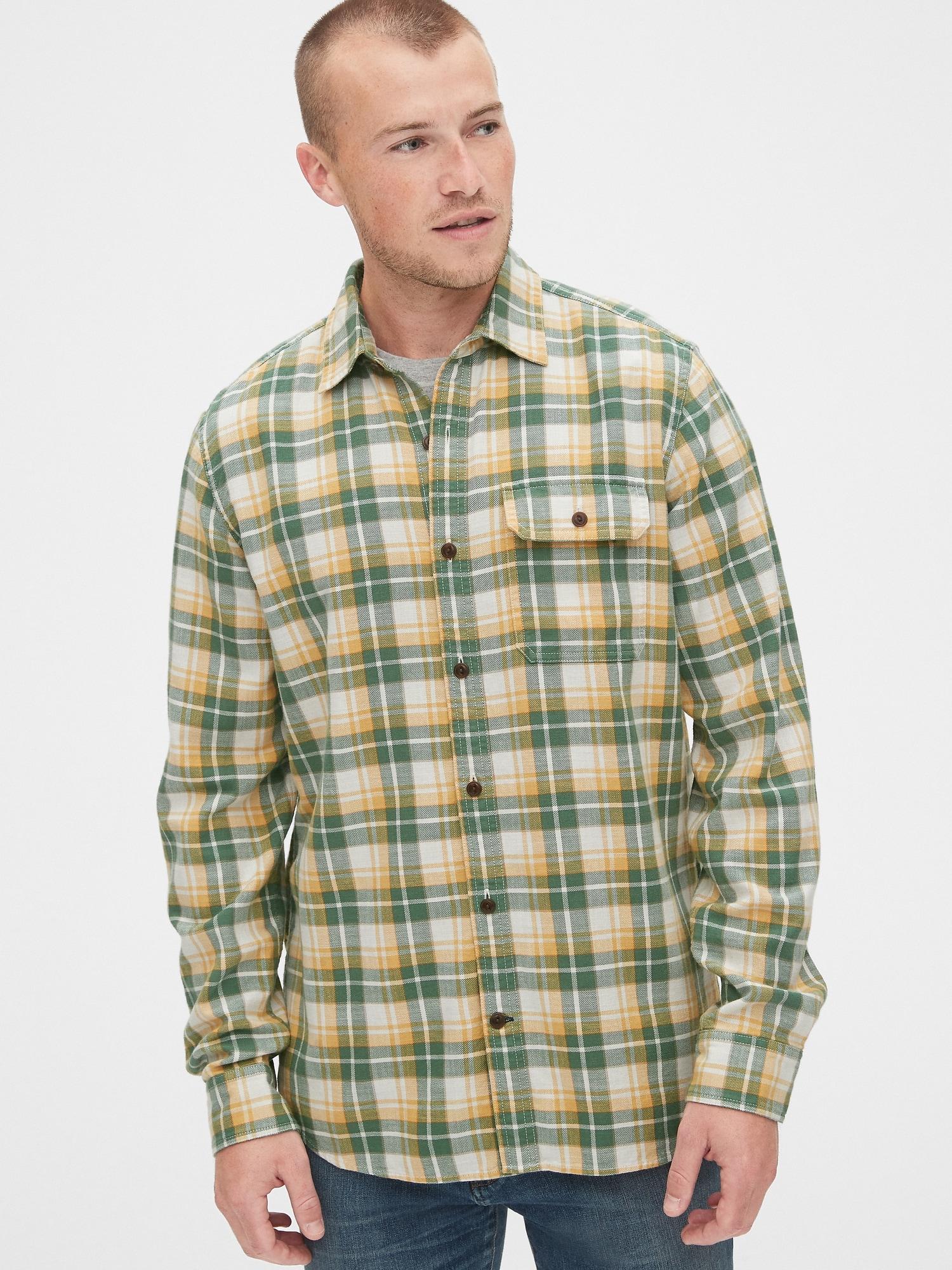 スリムフィット チェックツイルシャツ