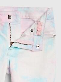 Kids Tie-Dye Super Skinny Jeans with Stretch