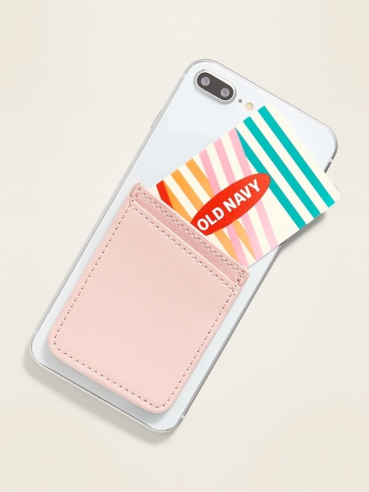 Stick-On Phone Wallet For Women