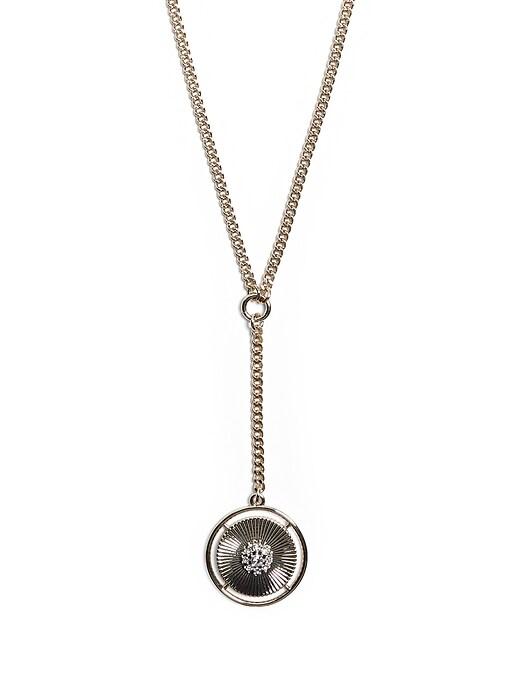 Delicate Stone Y Necklace
