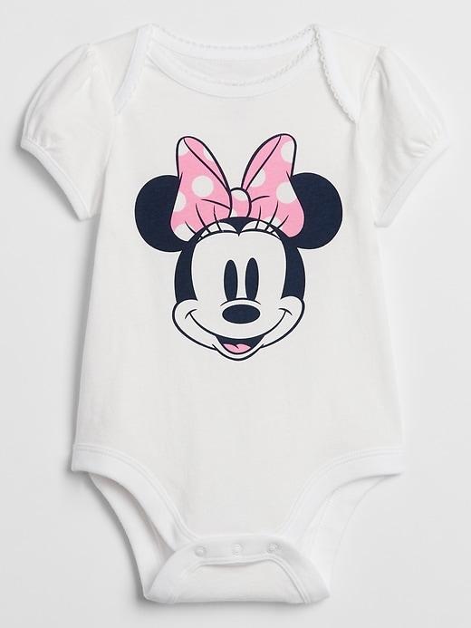 babyGap &#124 Disney Minnie Mouse Bodysuit