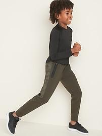 Dynamic Fleece Camo Side-Panel Joggers for Boys