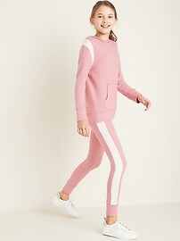 Plush-Knit Legging Joggers for Girls