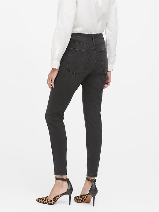 High-Rise Skinny Button-Fly Jean