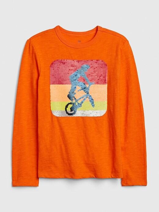 Kids Flippy Sequin T-Shirt