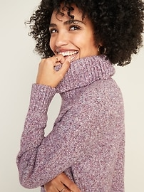 Slouchy Turtleneck Sweater for Women